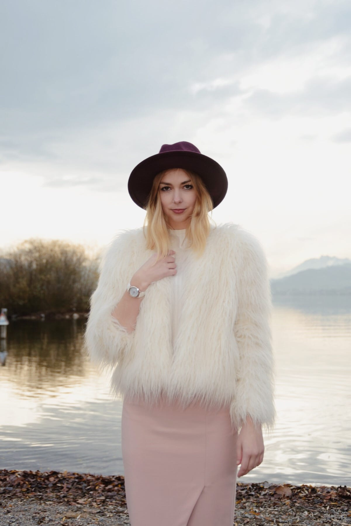Fake Fur Jacket Outfit