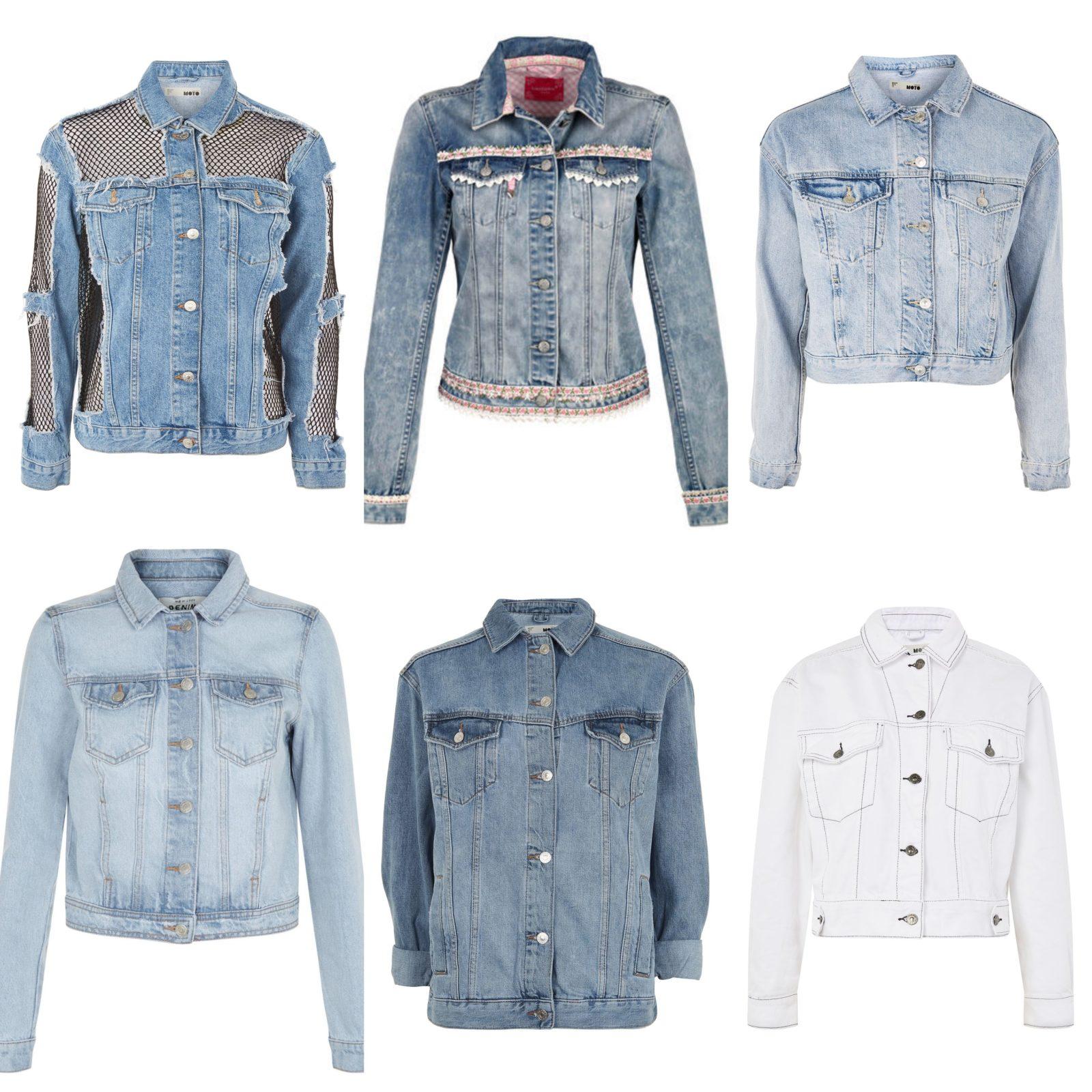 different types of denim jackets